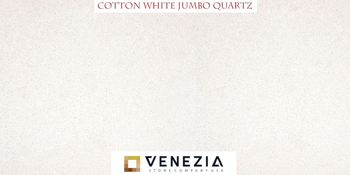 Cotton White Jumbo Quartz