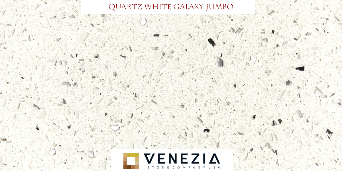 White Galaxy Jumbo Quartz