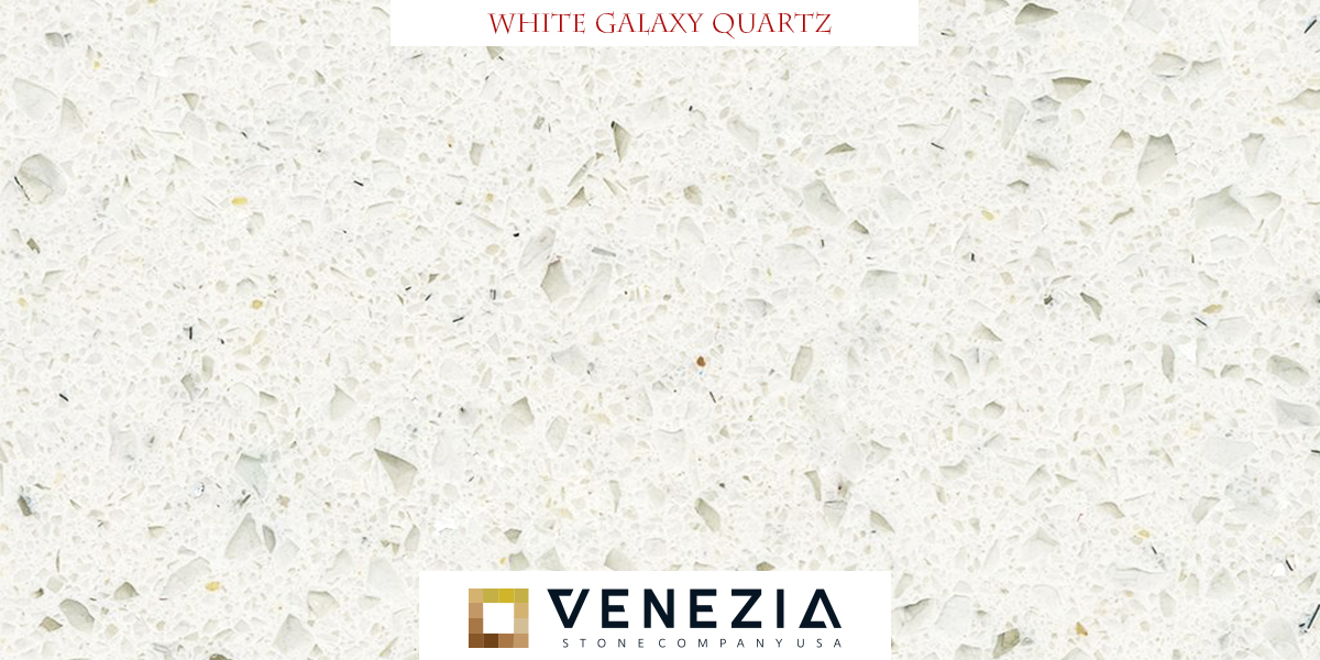 White galaxy quartz