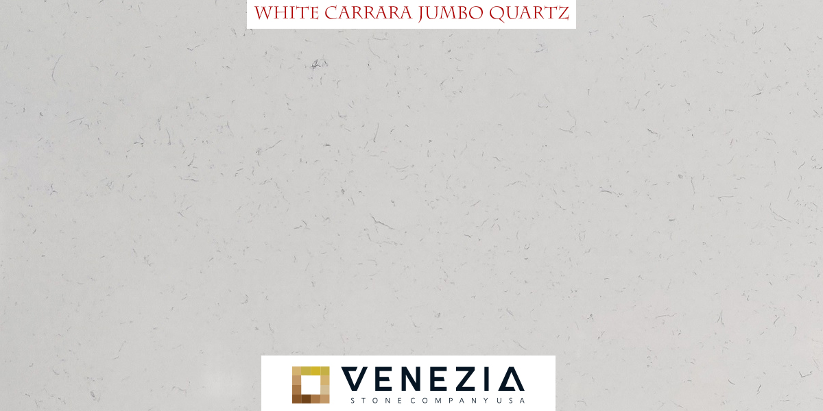 White Carrara Jumbo Quartz